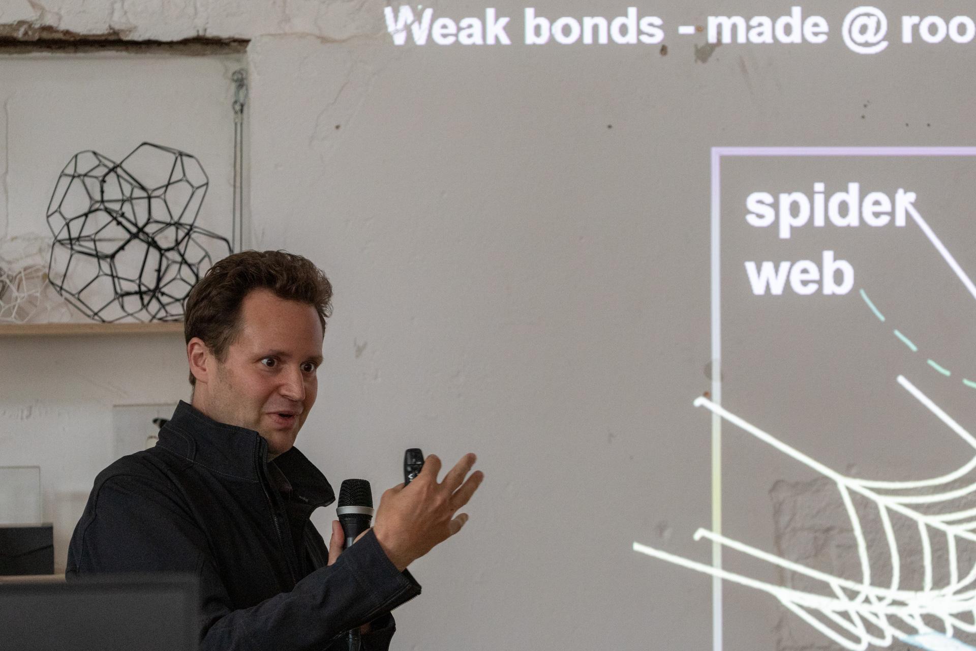 Arachnophilia Community Meeting with MIT Professor Markus J Buehler