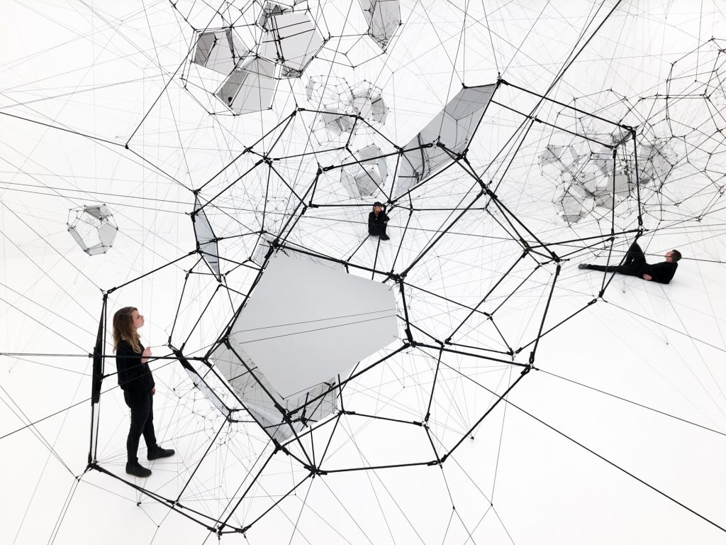 gravitational waves studio tom s saraceno Two-Reel Camera 1920 stillness in motion cloud cities