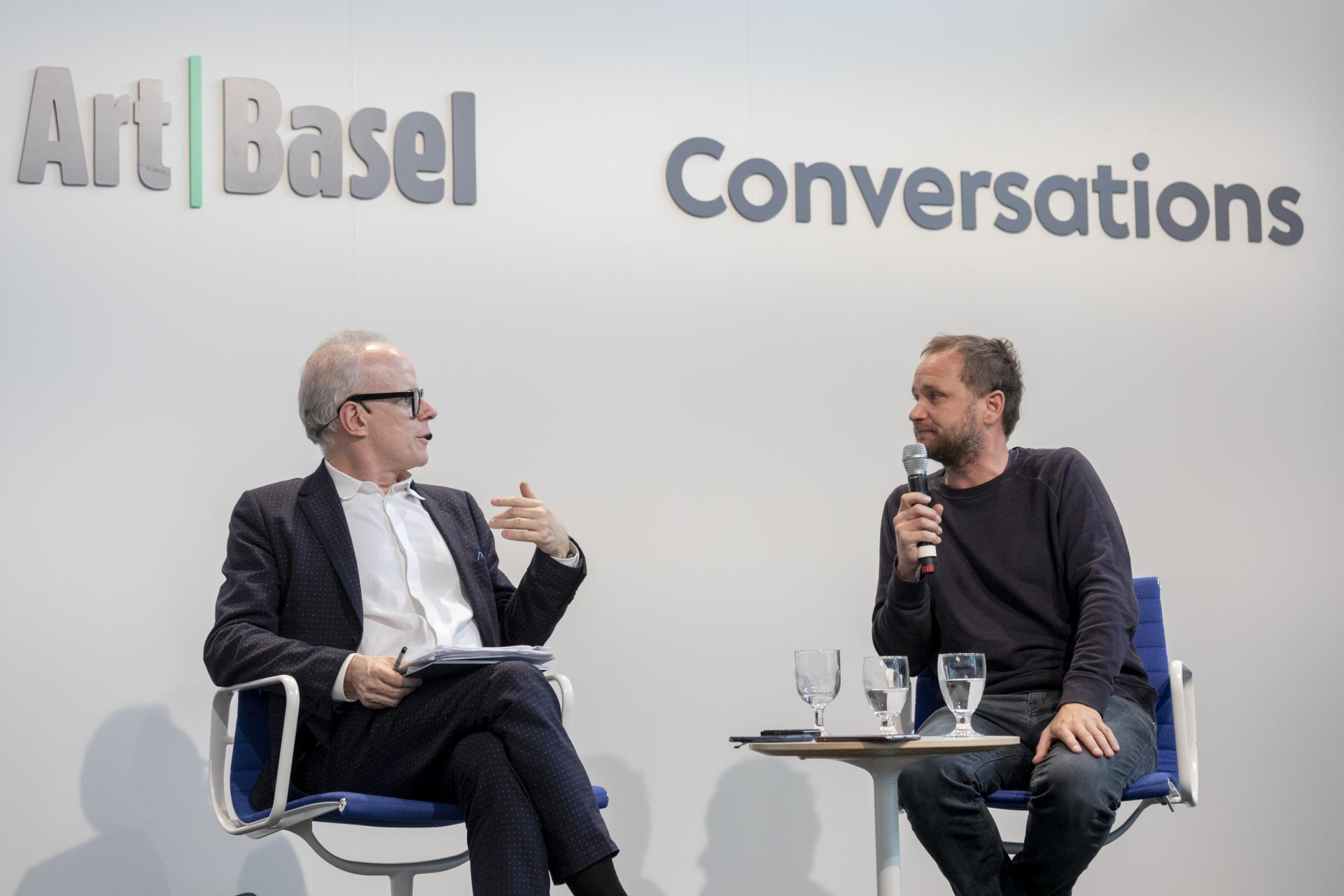Art Basel Miami – Hans Ulrich Obrist in conversation with Tomás Saraceno