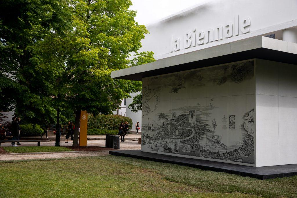 Tomás Saraceno at the Venice Biennale 2019